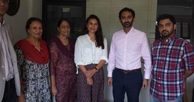 Junaid Iqbal and Zoes Visit to Behbud