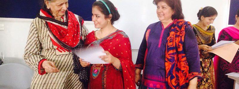 Certification Distribution Ceremony