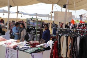 clothes stall
