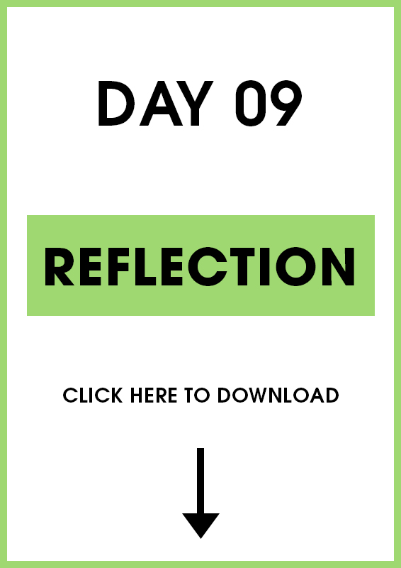 Day 9 Reflection (Introduction + Activities)