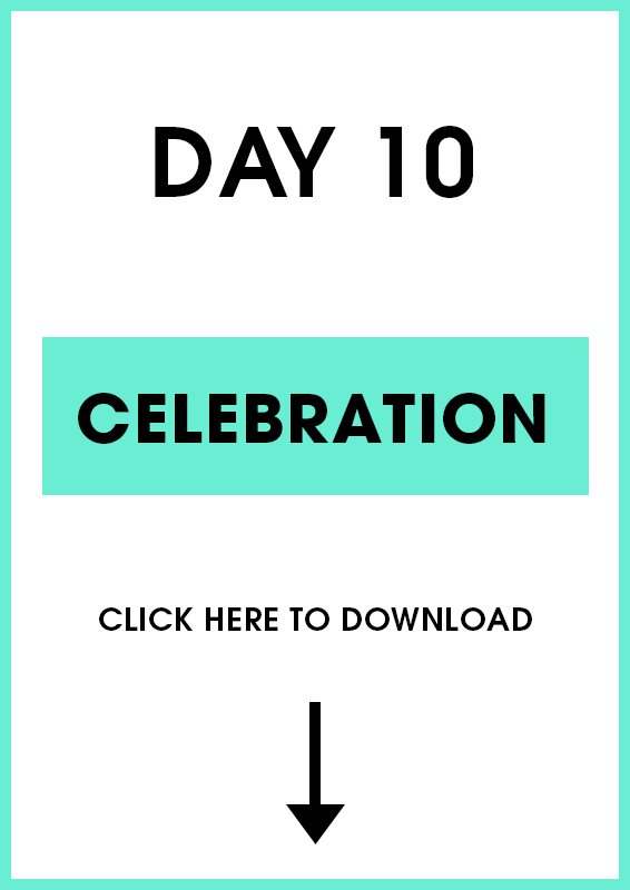 Day 10 Celebration (Introduction + activities)