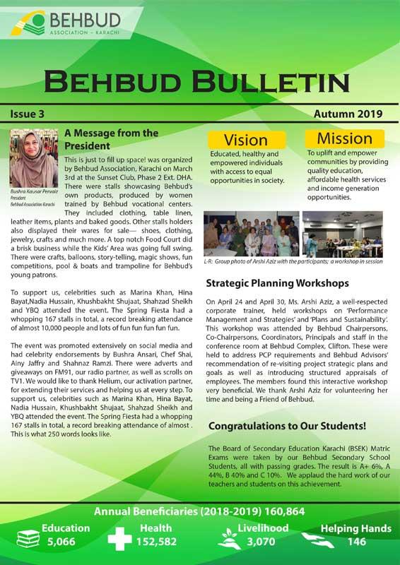 Bulletin Newsletter