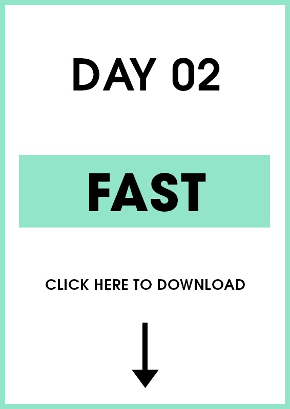 Day 2 Fast (Introduction + Activities)